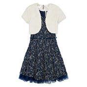 Knit Works Sleeveless Dress Set - Big Kid
