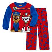 Boys Long Sleeve Kids Pajama Set-Toddler