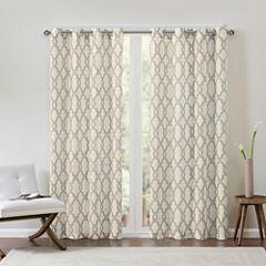 Grant Grommet-Top Curtain Panel
