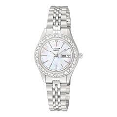 Citizen® Womens Stainless Steel Bracelet Watch EQ0530-51D