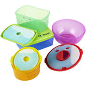 Fit & Fresh® 13-pc. Kids Lunch Food Storage Set