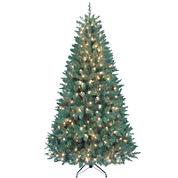 Kurt Adler 7 Ft. Pre-Lit Pine Tree with Clear Lights