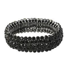 Mixit™ Braided Four-Row Stretch Bracelet