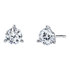 DiamonArt® Cubic Zirconia 1½ CT. T.W. Stud Earrings