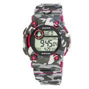 Armitron® Pro-Sport Mens Camo Resin Strap Chronograph Sport Watch 40/8229CPK