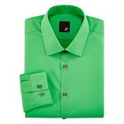 JF J. Ferrar® Easy-Care Dress Shirt - Slim Fit