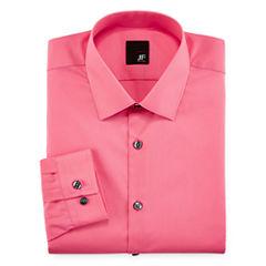 JF J. Ferrar® Slim-Fit Easy-Care Dress Shirt - Big & Tall
