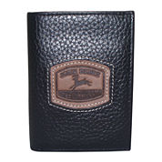 John Deere® Leather Trifold Wallet