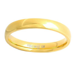 Mens 18K Stainless Steel Band