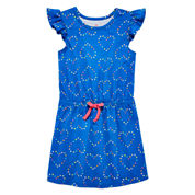 Okie Dokie Short Sleeve Cap Sleeve Sundress - Preschool