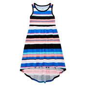 Okie Dokie Sleeveless Maxi Dress - Preschool Girls