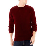 Claiborne® Chunky Crewneck Sweater
