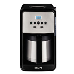 Krups Savoy 12 Cup Thermal Carafe Coffee Maker