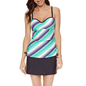Free Country ® Adjustable Tankini or Shirred Waistband Skirt