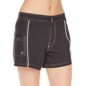 Free Country ®  Side Panel Bandeaux or Draw String Swim Shorts