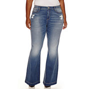 Arizona Wide Leg Flare - Juniors Plus