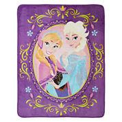 Disney Frozen Nordic Love Silk Touch Throw