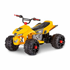 KidTrax Caterpillar CAT ATV Quad 12V Electric Ride-on