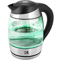 Kalorik Electric Kettle with Color-Changing LED Lights