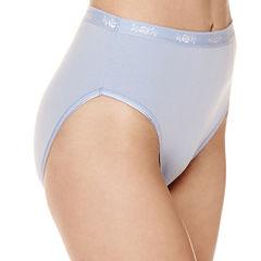 Underscore® Cotton Rib High-Cut Panties