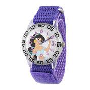Disney® Girls Purple Jasmine Strap Watch