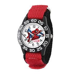 Marvel® Spiderman Boys Red Strap Watch