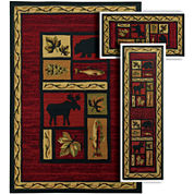 Oriental Weavers™ Benton Woody 3-pc. Rug Set
