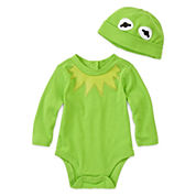 Disney Baby Collection Kermit Bodysuit Costume Set - Baby Boys newborn-24m