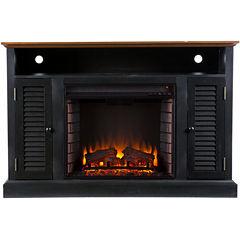 Felicia Media Electric Fireplace