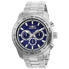 Invicta Men'S Watches Mens Silver Tone Bracelet Watch-21795