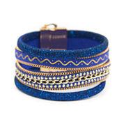 Arizona Womens White Charm Bracelet