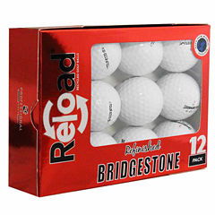12 Pack Bridgestone B330-S Refinished Golf Balls.