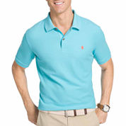 IZOD Short Sleeve Solid Knit Polo Shirt