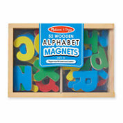 Melissa & Doug® Magnetic Wooden Alphabet Set