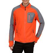 Champion® Textured Pill-Resistant Microfleece Jacket