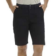 Lee® Cargo Bermuda Shorts - Petite