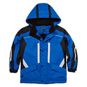 Boys Heavyweight Ski Jacket-Preschool Boys 4-7