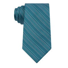 VAN HEUSEN CHROME STRIPE SLIM TIE