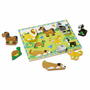 Melissa & Doug® Chunky Wooden Pets Puzzle