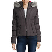 Maralyn And Me Puffer Jacket-Juniors
