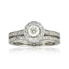 tw diamond bridal ring set - Jcpenney Wedding Rings