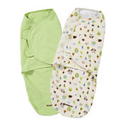 Summer Infant® 2-pk. SwaddleMe® Blankets - Woodland Friends