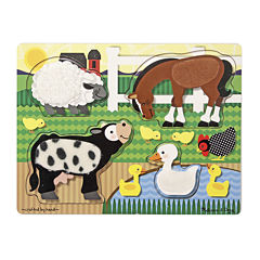 Melissa & Doug® Farm Touch and Feel Puzzle