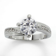 Sparkle Allure Solitaire Ring