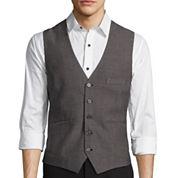 WD.NY Black Birdseye Vest