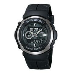 Casio® G-Shock Street Rider Mens Analog/Digital Sport Watch G300-3AV