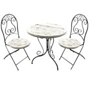 Annecy 3-pc. Distressed Bistro Set