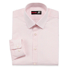 J.Ferrar Easy-Care Slim Fit Long Sleeve Dress Shirt