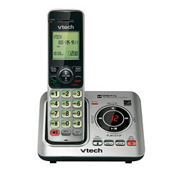 VTech CS6629 DECT 6.0 Expandable Cordless Phone with Caller ID/Call Waiting and either One, Two or Three Handsets