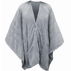 Serta® Heated Snuggler Electric Warming Wrap Throw